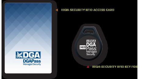 RFID Proximity Access Card and Key Fob