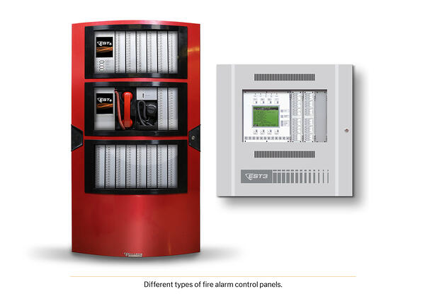 Types of fire alarm control panels