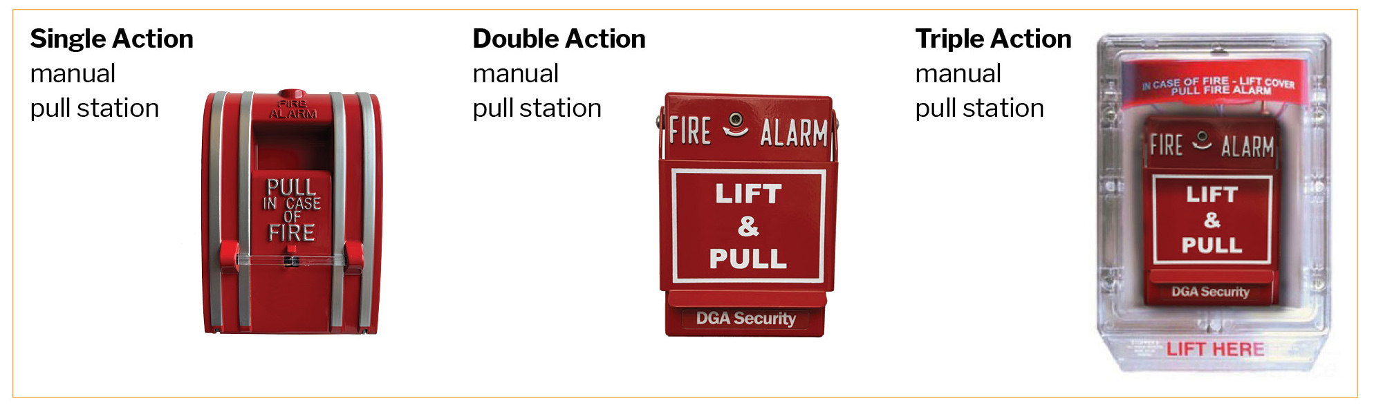 Fire Alarm Manual Pull Stations
